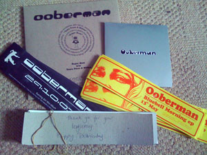 Ooberman stuff from the dusty shoebox